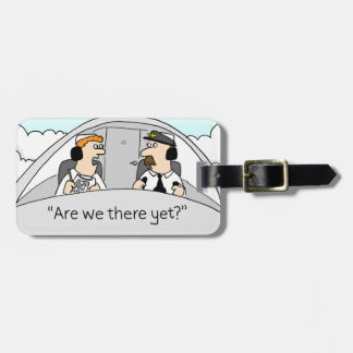 Sommes-nous là encore ? Étiquette de bagage Étiquette À Bagage