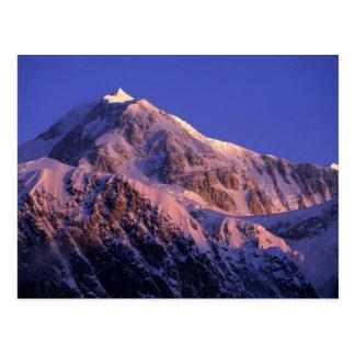 Sommet de Denali le mont McKinley maximal) à Carte Postale