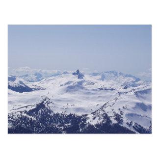 Sommet de montagne de Milou Cartes Postales