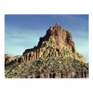 Sommet de montagne de roche carte postale