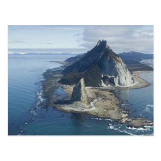 Sommet de phare et de roche à St Elias 2 de cap Carte Postale