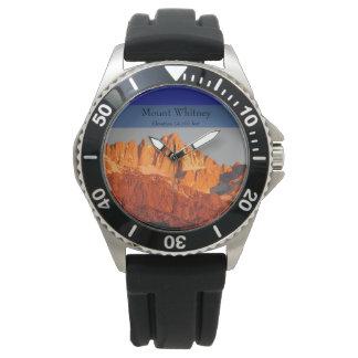 Sommet le plus élevé dans les 48 inférieurs montres