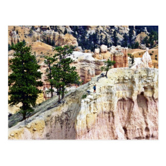 Sommets découpés par temps - parc national de carte postale