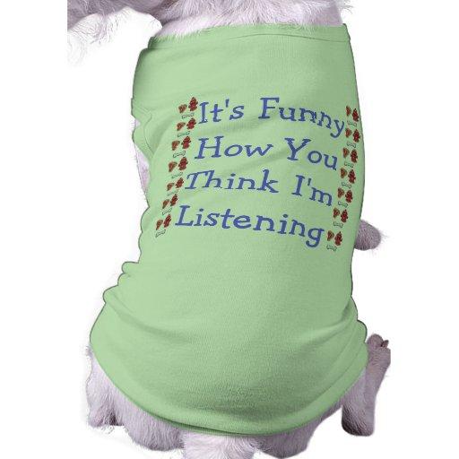Son drôle comment u pensent im parlant à u… manteau pour animal domestique