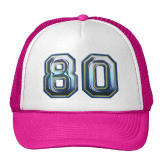 Son quatre-vingtième anniversaire casquettes de camionneur