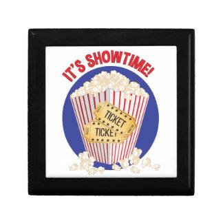 Son Showtime Petite Boîte À Bijoux Carrée