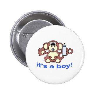 Son un GARÇON ! Badge