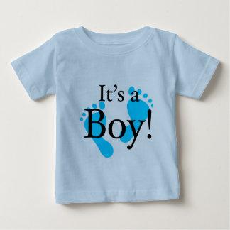 Son un garçon - bébé, nouveau-né, célébration t-shirt pour bébé