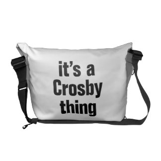 son une chose crosby sacoches