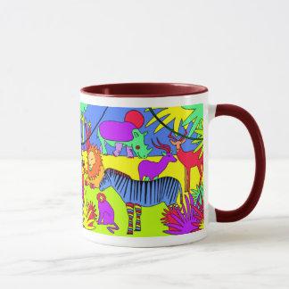Son une jungle là mugs