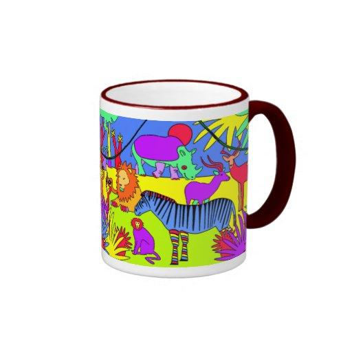 Son une jungle là tasses à café