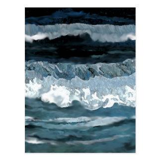Sonate d'océan - art d'océan de CricketDiane Carte Postale