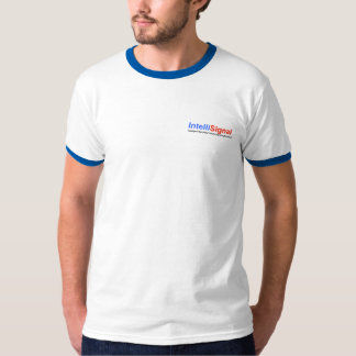 Sonnerie blanche/bleue d'IntelliSignal T-shirt