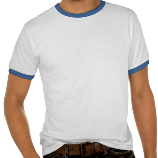 Sonnerie blanche et bleue de l'Italie T-shirt