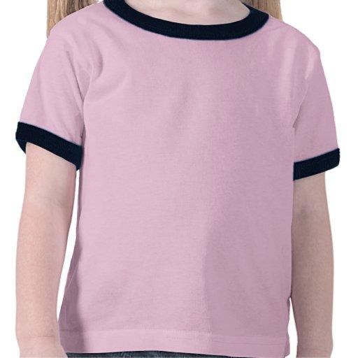 Sonnerie bleue T des textes T-shirt