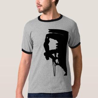 Sonnerie T d'escalade de roche T-shirt