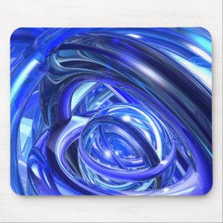 Sonneries bleues tapis de souris