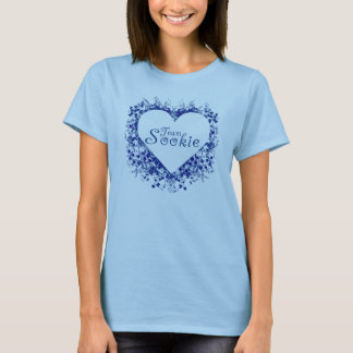 sookie d'équipe (coeur bleu) t-shirt