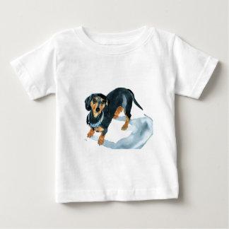 Sophie le teckel t-shirt pour bébé