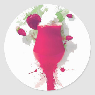 sorbet jacob's design sticker rond