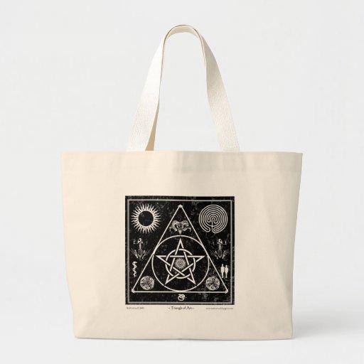 Sorcellerie : La triangle de l'art Sac En Toile