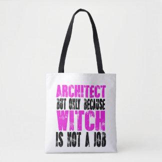 Sorcière d'architecte tote bag