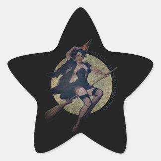 Sorcière de Salem Sticker Étoile