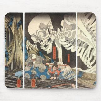 Sorcière de Takiyasha et le mousepad squelettique Tapis De Souris