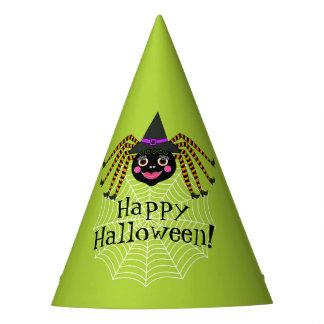 Sorcière Halloween d'araignée Chapeaux De Fètes