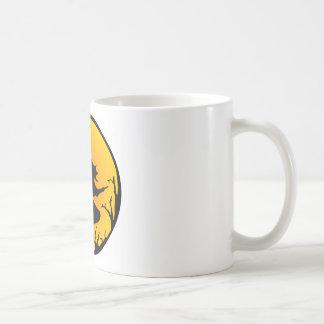 Sorcière sur le balai mugs à café