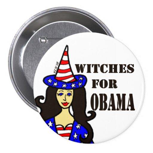 Sorcières pour le bouton de Halloween d'amusement  Badge Avec Épingle