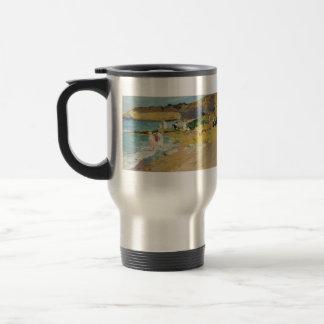 Sorolla-Roche de Joaquín et le phare Biarritz Mugs À Café