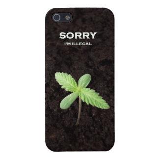 Sorry I'm Illegal Étui iPhone 5