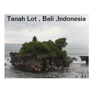 Sort de Tanah, Bali, Indonésie Carte Postale