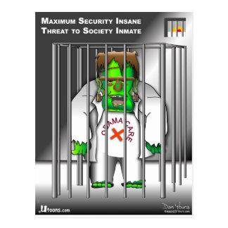 Sortez de la prison cartes postales