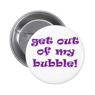 Sortez de ma bulle badges avec agrafe
