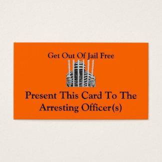 Sortez des cartes libres de prison