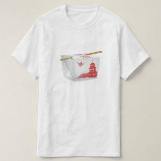 Sortez le T-shirt chinois de nourriture