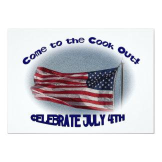 Sorti au cuisinier du 4 juillet ! faire-parts