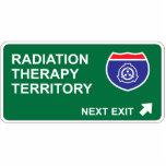 Sortie de thérapie radiologique prochaine photos en relief