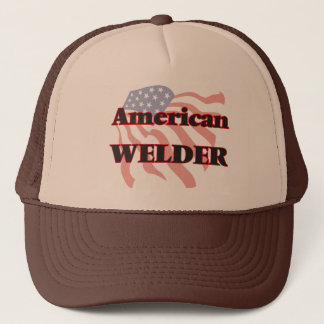Soudeuse américaine casquette