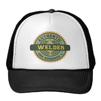 Soudeuse authentique casquette trucker