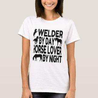 Soudeuse d'amant de cheval t-shirt