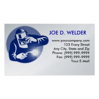 soudure de soudeuse carte de visite standard