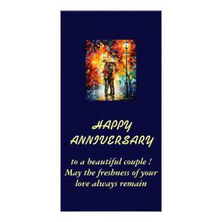 souhait l anniversaire de mariage cartes de vœux avec photo