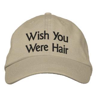 Souhait vous étiez casquette de baseball de