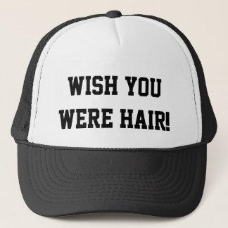 Souhait vous étiez casquette drôle de camionneur