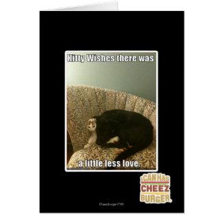Souhaits de Kitty Cartes