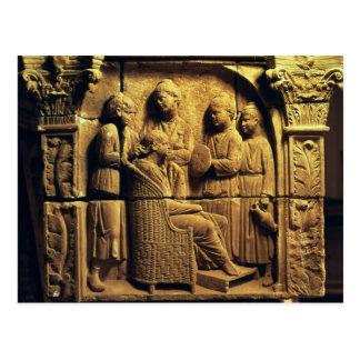 Soulagement de Bas d'un coiffeur, romain Carte Postale