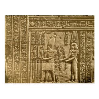 Soulagement dépeignant Ptolémée VIII Euergetes II Carte Postale